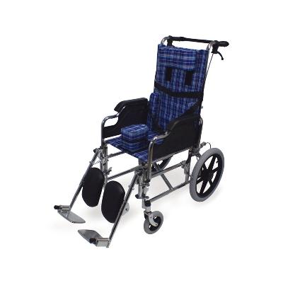 silla de rueda ortopedica
