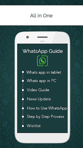 Guide WhatsApp for Tablet Computer or Browser for PC