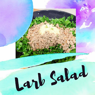 Larb Salad.