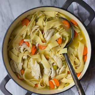 Old-Fashioned Chicken Noodle Soup.