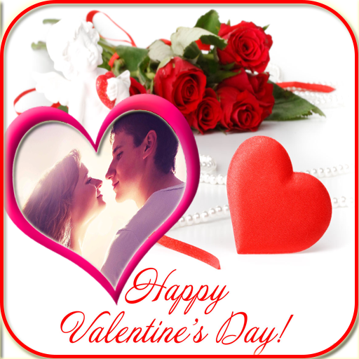 Happy Valentine Photo Frame