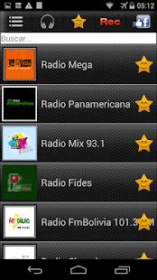 Radios de Bolivia - náhled