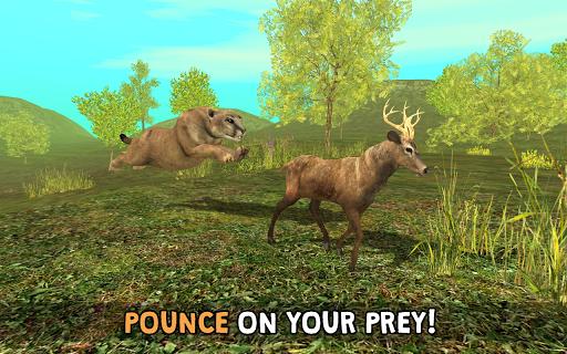 Wild Cougar Sim 3D apkpoly screenshots 3