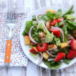 Grilled Chicken Salad With Ginger Dressing #Recipe