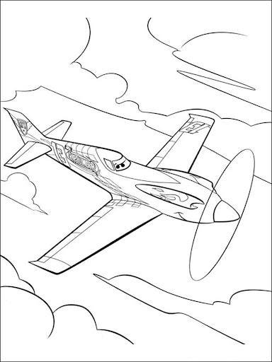 Plane Fun Coloring Book