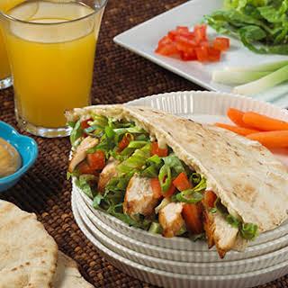 Chicken Teriyaki Pita Sandwich.