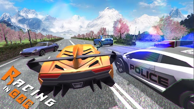 Racing In Car 3D apk screenshot
