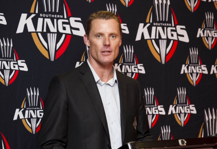Charl Crous (Chief Operating Officer) of the Southern Kings during the Southern Kings press conference at Nelson Mandela Bay Stadium on February 16, 2017 in Port Elizabeth, South Africa.
