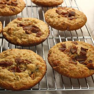 Bacon-Thyme Corn Muffin Tops