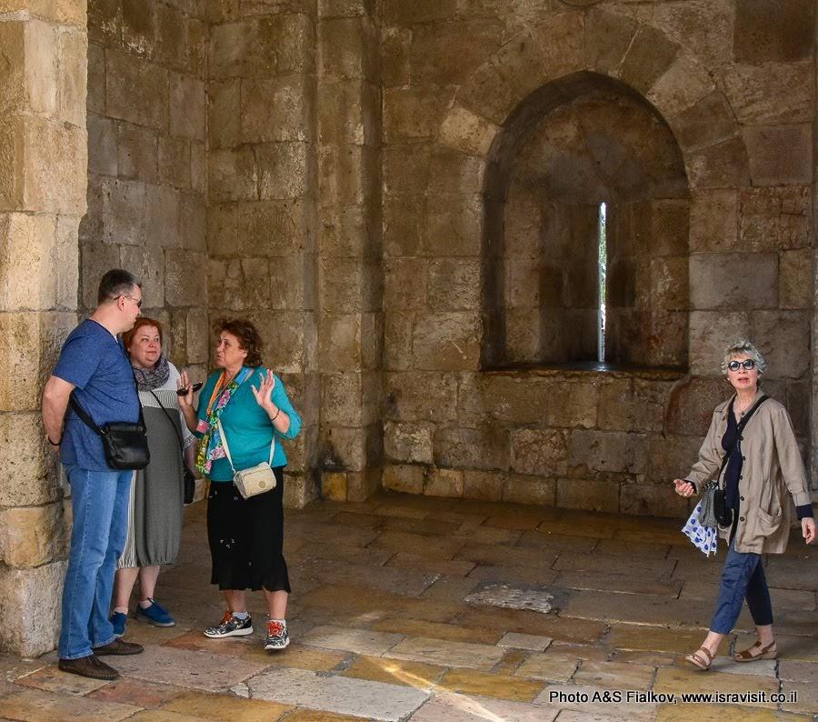 Яффские ворота. Вход в Старый город Иерусалима. Начало экскурсии по Иерусалиму.