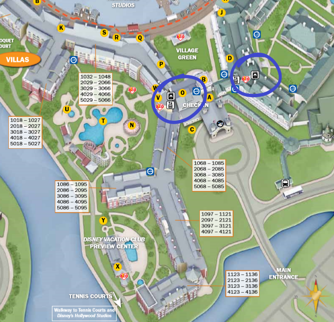 Disney's Boardwalk Laundry Locations