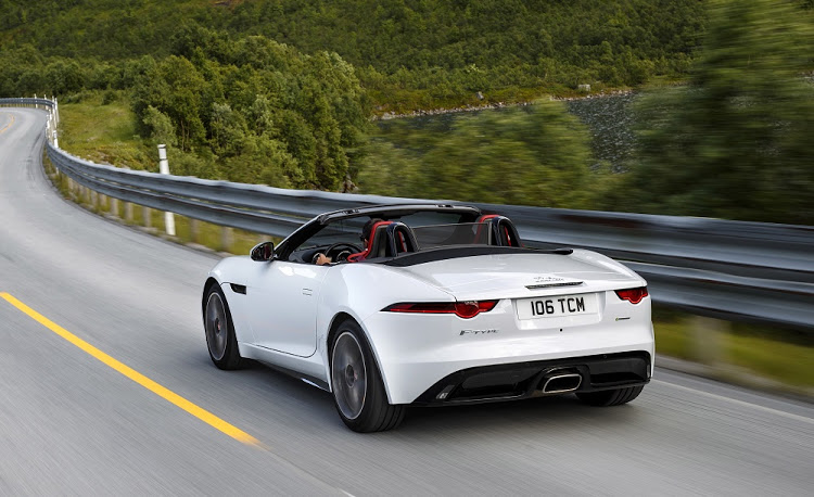 The single exhaust on the convertible and coupe denotes the entry model