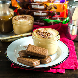 Salted Butterscotch Latte with Tim Tam Slam (Tips for the BEST Tim Tam Slams)
