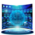 Future Tech Keyboard Theme icon