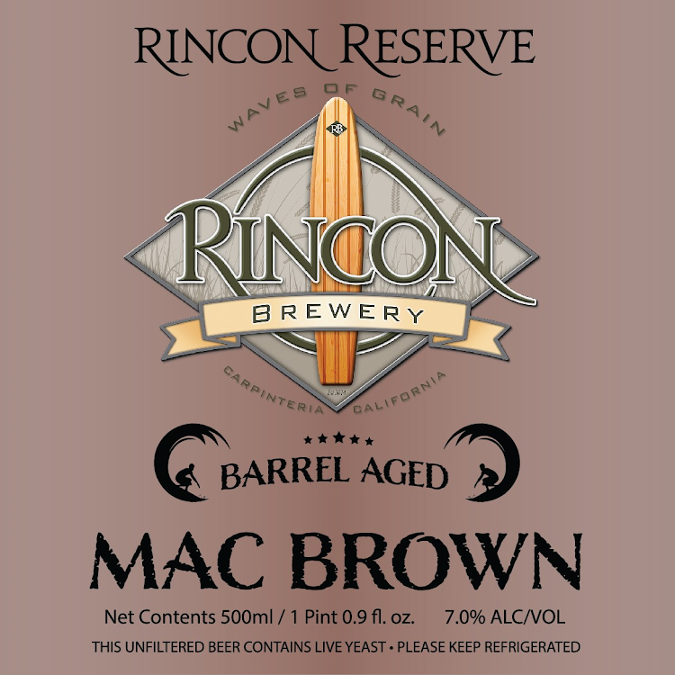 Logo of Rincon Barrel Aged Mac Brown