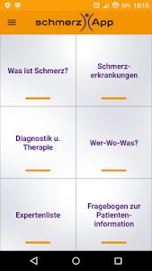 schmerzApp screenshot 1