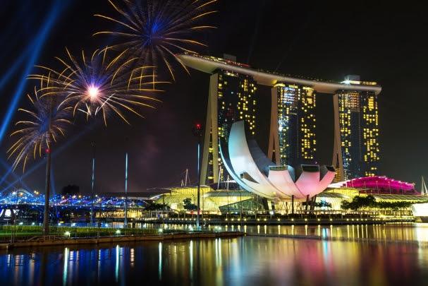 Passagem de Ano em Singapura