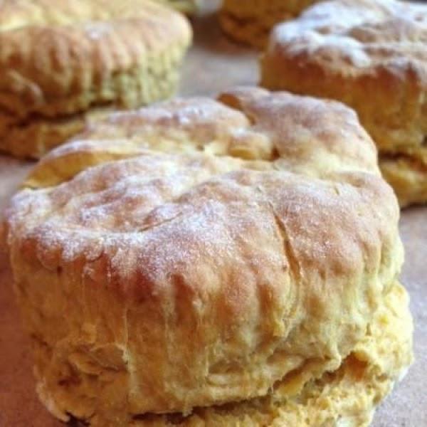 Vegan Pumpkin Biscuits Recipe