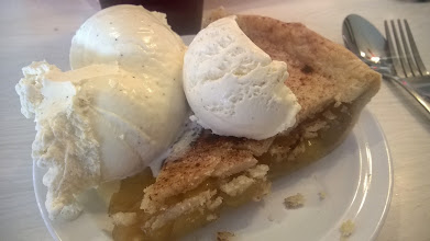 """Photo: August 9-The Midpoint is famous for their """"Ugly Pies"""", but I thought the apple looked lovely."""