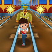 Boy Subway Ryder Dash Patrol Train Running Android APK Download Free By Unknown Developer