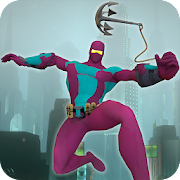 Ultimate Rope Hero Ninja City