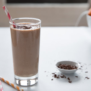 Cold Brew Banana Oatmeal Smoothie.