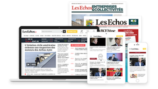 les echos journal + digital