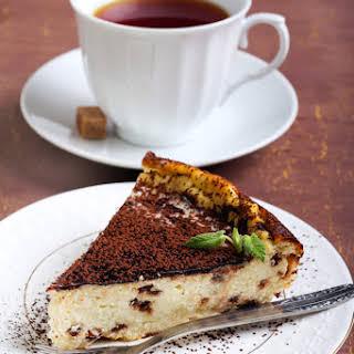 Kahlua Coffee Cheesecake.