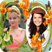 Flower Couple Dual Photo Frame Android APK Download Free By Parth App Labs