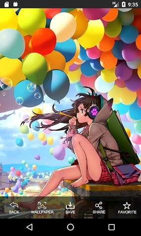 Anime Girl HD Wallpapers Screenshot