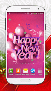 New Year Live Wallpaper HD screenshot 0