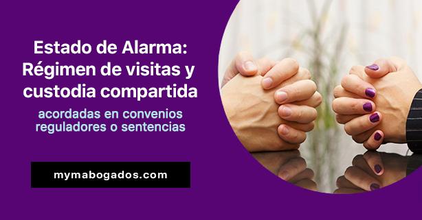 Estado de Alarma: Régimen de visitas y custodia compartida