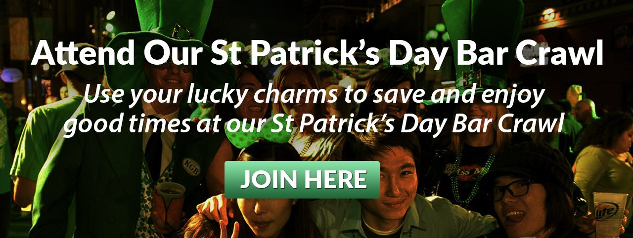 2019 Denver St Patrick's Day Bar Crawl