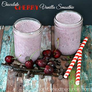 Chocolate Cherry Vanilla Smoothie Recipe