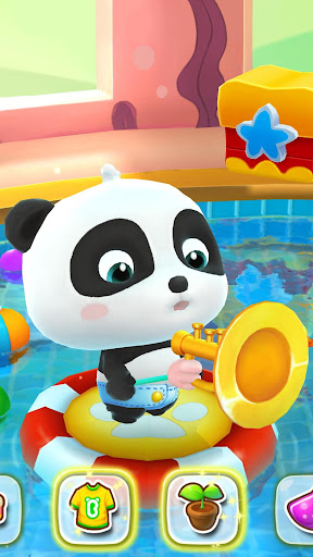Talking Baby Panda - Kids Game 8.22.00.02 screenshots 4