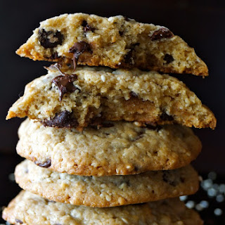 Sesame Chocolate Chip Cookie