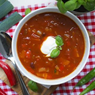 Warming Chili Soup.