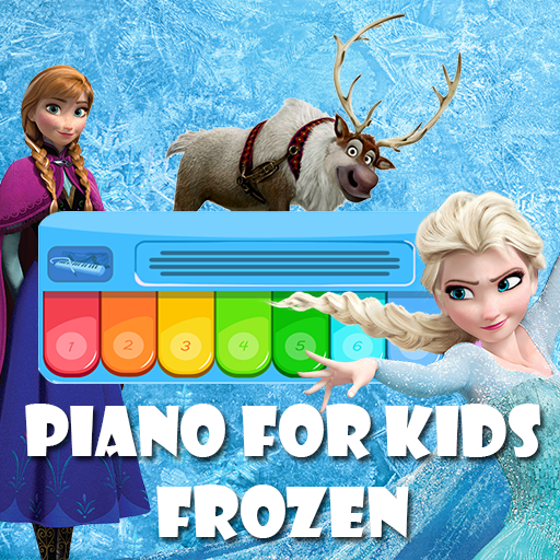Piano For Kids Frozen (Elsa Anna)
