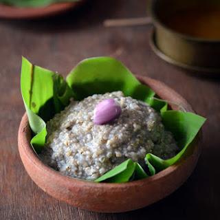 Kambu Soru / Bajra Rice – Kongunadu Special.