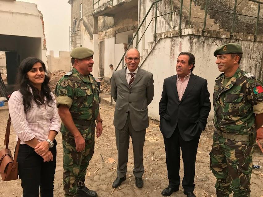 Modernização do Centro de Operações Especiais de Lamego começa no terreno