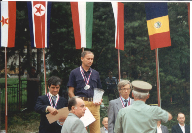 Photo: ORAVA CSSR 1989. - YU7AM na pobednickom postolju