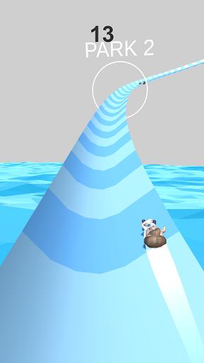 Aquapark Slide.io screenshot 3