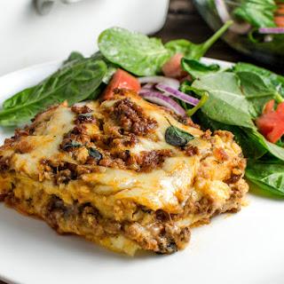 Polenta Lasagna Bolognese