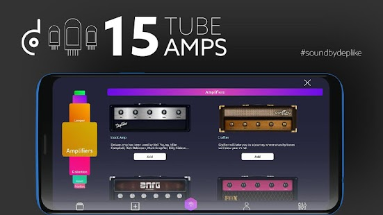 guitar effects guitar amps apk a multi effects processor tutuapp. Black Bedroom Furniture Sets. Home Design Ideas
