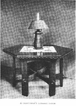Photo: 1910 CRAFTSMAN LIBRARY TABLE.