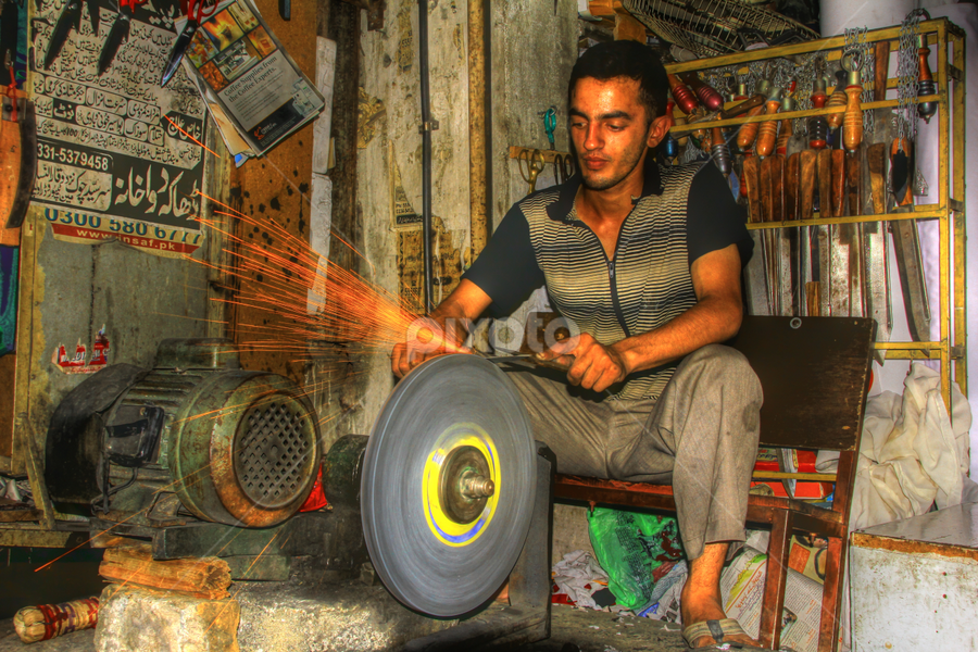 Hard Work.. by Asmar Hussain - People Street & Candids