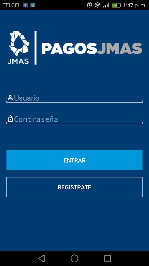 Скриншот Pagos JMAS