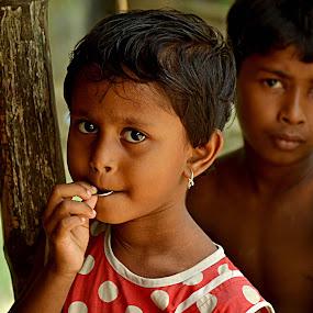 by Jit Rakshit - Babies & Children Children Candids