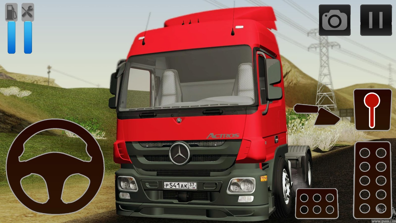 Truck simulator games mercedes benz android apps on for Mercedes benz games