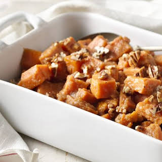 Slow-Cooker Sweet Potatoes with Applesauce.